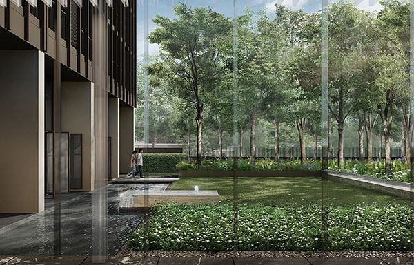 Noble-Be33-Bangkok-condo-for-sale-Semi-Outdoor-Lobby2